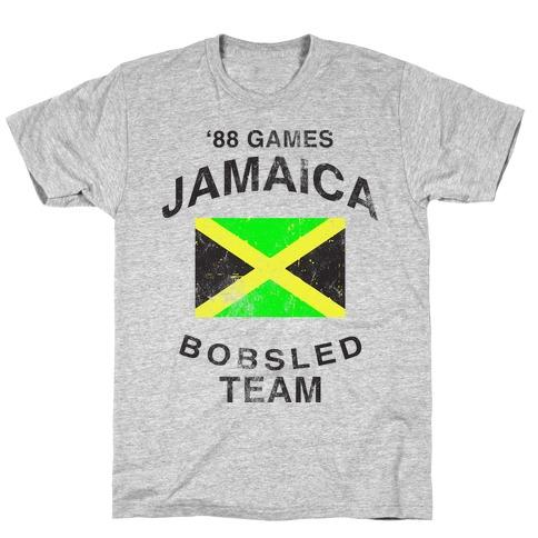 Jamaica Bobsled Team (Vintage Tank) T-Shirt