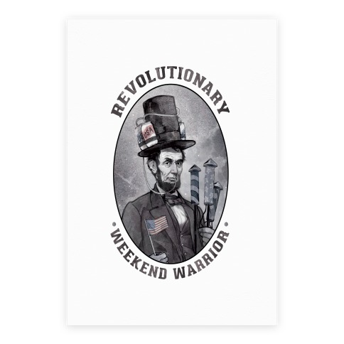 Revolutionary Weekend Warrior Poster Poster