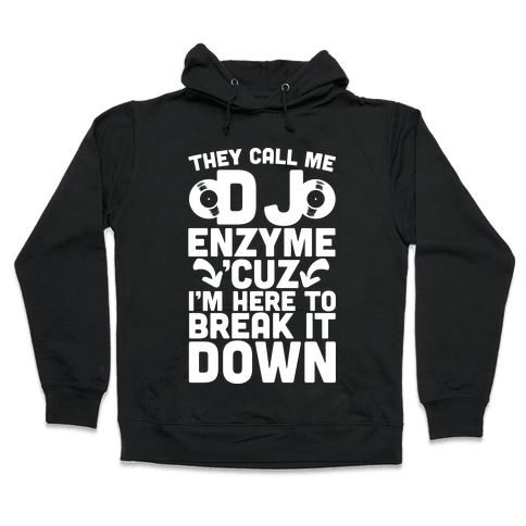 DJ Enzyme Hooded Sweatshirt