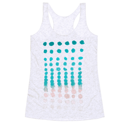 Summer Window Racerback Tank Top
