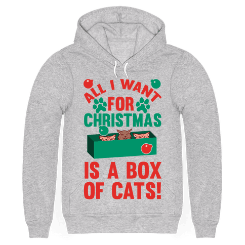 All I Want For Christmas Is A Box Of Cats