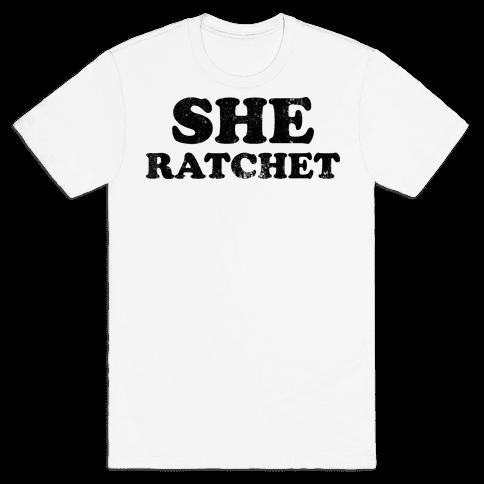 She Ratchet (Tank) Mens T-Shirt