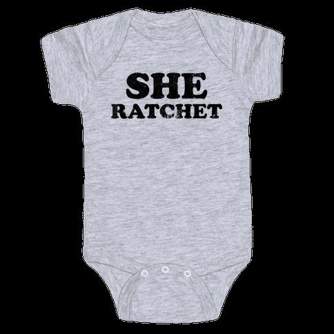 She Ratchet (Tank) Baby Onesy