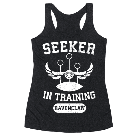 Seeker In Training (Ravenclaw) Racerback Tank Top