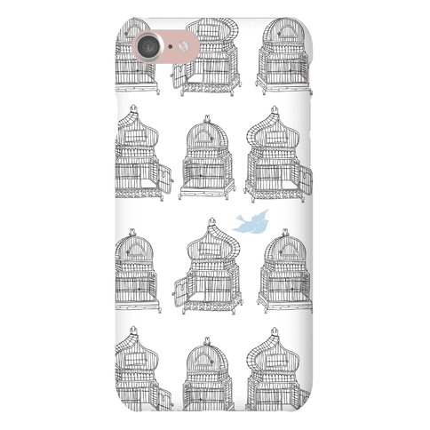 Open Birdcage Phone Case