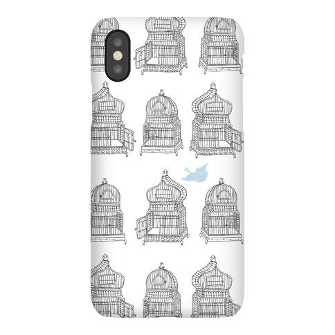Open Birdcage Phone Case