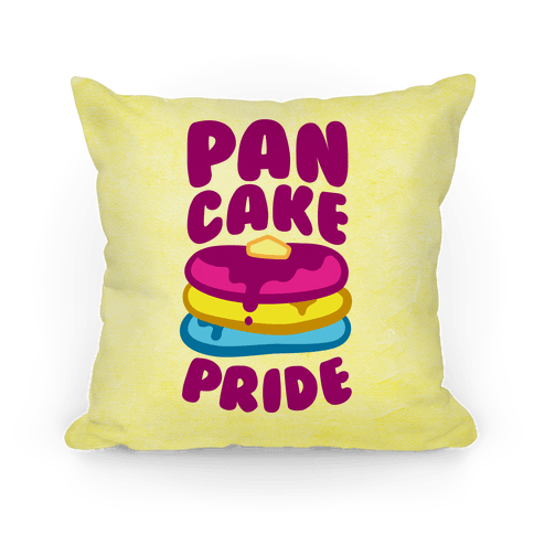Pan Cake Pride Pillow