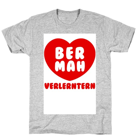 Be My Valentine (ermahgerd) Mens T-Shirt