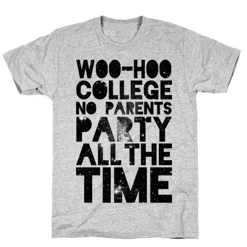 College Mens/Unisex T-Shirt