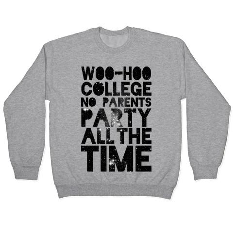 College Pullover