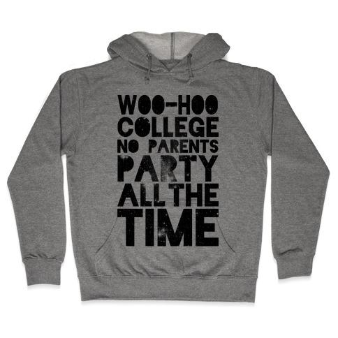 College Hooded Sweatshirt