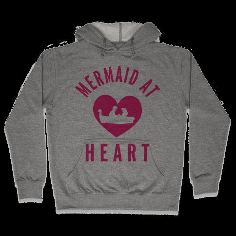 Mermaid At Heart (Ariel Edition Sweater) Hooded Sweatshirt