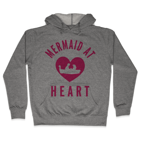 Mermaid At Heart (Ariel Edition Sweater) Hooded Sweatshirt
