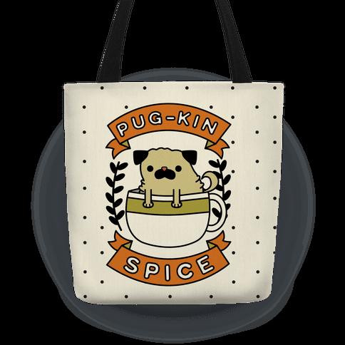 Pugkin Spice Tote