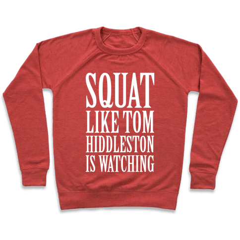 Squat Like Tom Hiddleston Is Watching Pullover