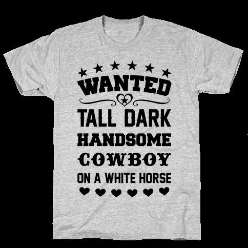 Cowboy Wanted Mens T-Shirt