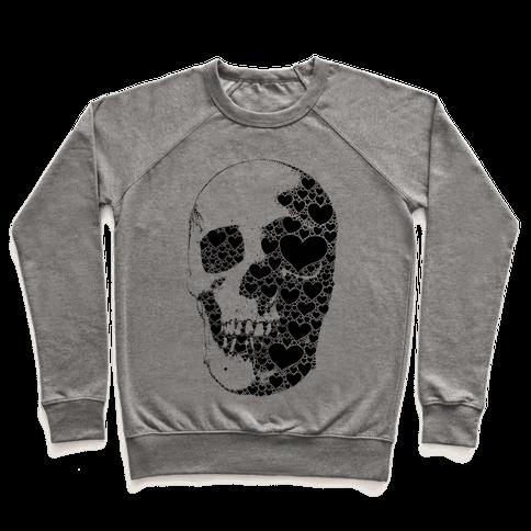 Heart Skull Pullover