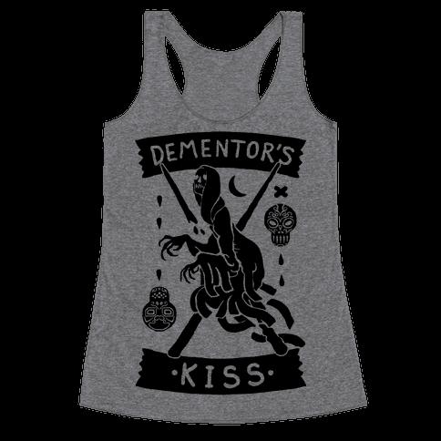 Dementor's Kiss Racerback Tank Top