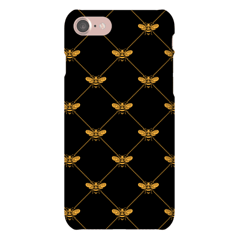 Regal Golden Honeybee Pattern
