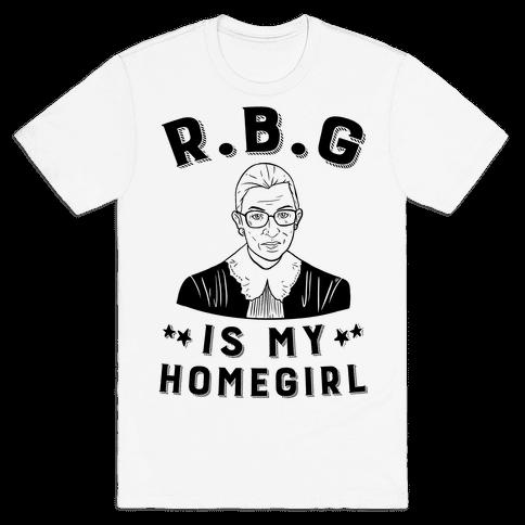 R.B.G Is My Home Girl Mens T-Shirt