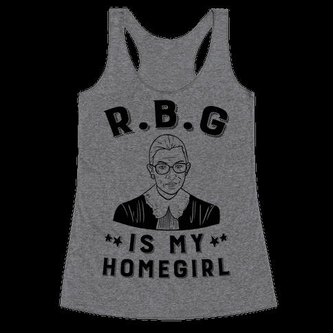R.B.G Is My Home Girl Racerback Tank Top