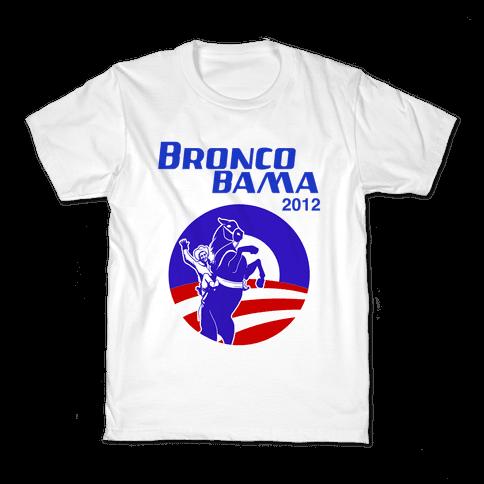 Bronco Bama 2012 Election Kids T-Shirt