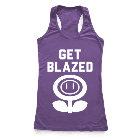 Get Blazed Racerback Tank Top