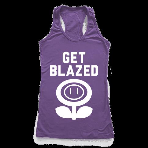 Get Blazed Racerback Tank Top
