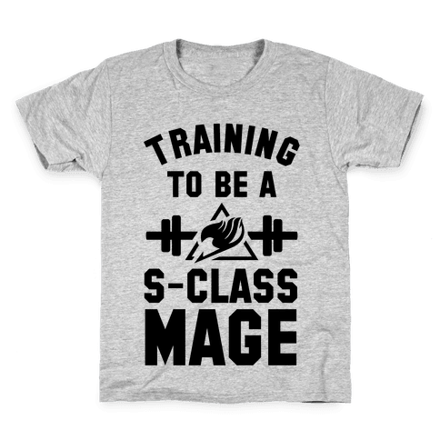 Training to Be a S-Class Mage Kids T-Shirt