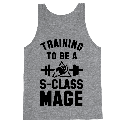 Training to Be a S-Class Mage Tank Top