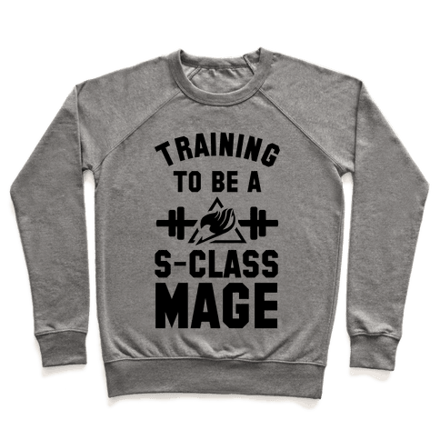Training to Be a S-Class Mage Pullover