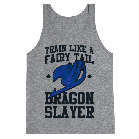 Train Like a Fairy Tail Dragon Slayer (Wendy) Tank Top