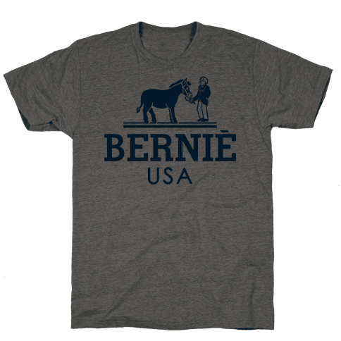 Bernie Sanders USA Fashion Parody