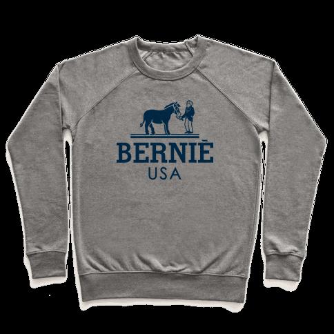 Bernie Sanders USA Fashion Parody Pullover