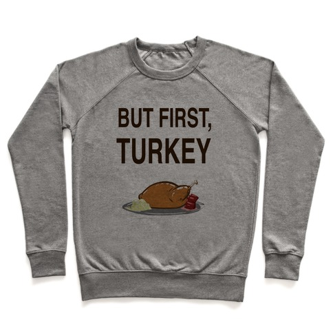 But first, Turkey Pullover