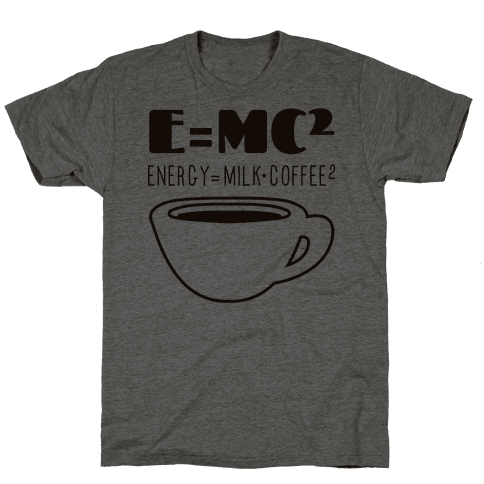 E=Mc Coffee