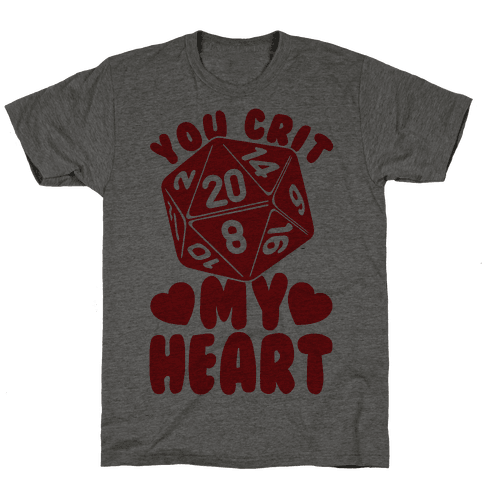 You Crit MY Heart