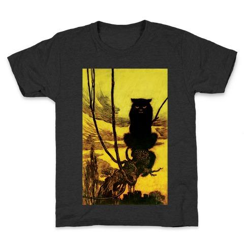 Black Cat Kids T-Shirt
