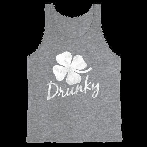 Irish Drunky Tank Top