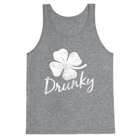 Irish Drunky Tank Top