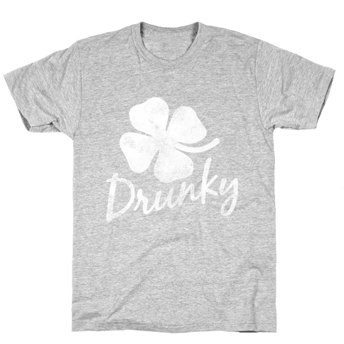 Irish Drunky Mens T-Shirt