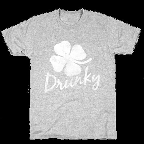 Irish Drunky Mens T-Shirt