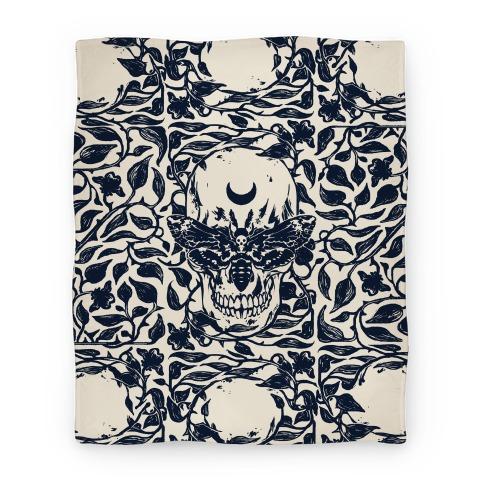 Skull Moth Blanket