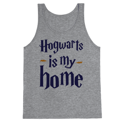 Hogwarts Is My Home Tank Top