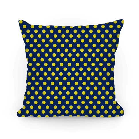 Ravenclaw Polka Dot Pattern Pillow