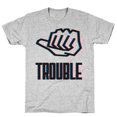 Double Trouble 2 Mens T-Shirt