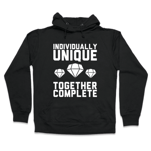Individually Unique Together Complete Hooded Sweatshirt