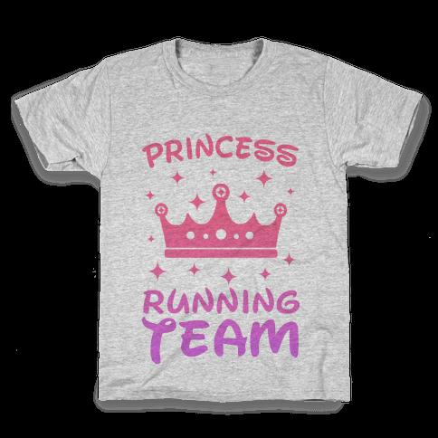 Princess Running Team Kids T-Shirt