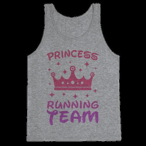 Princess Running Team Tank Top
