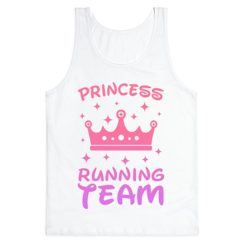 Princess Running Team Tank Top
